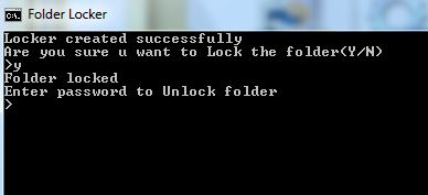 Free password to lock with download folder how a
