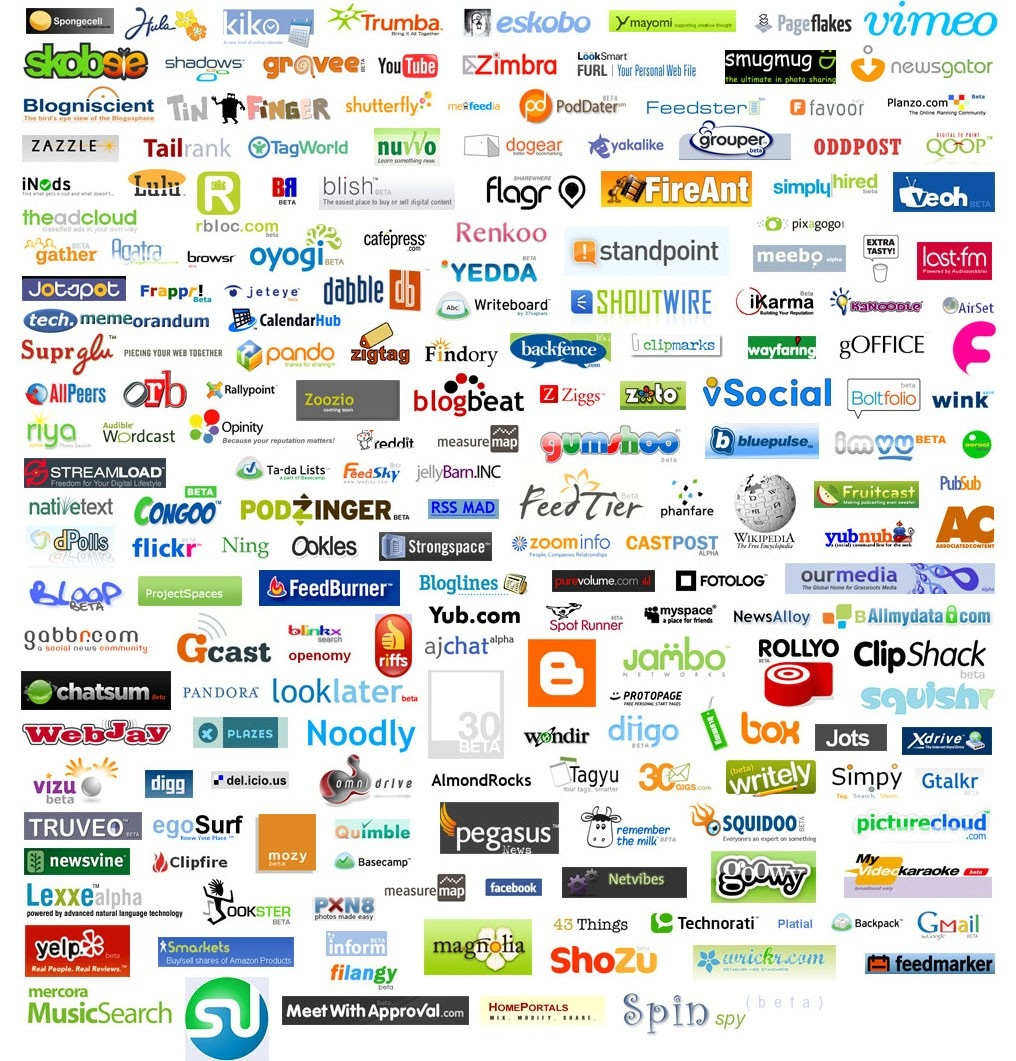 list of web companies those are now shut down or got