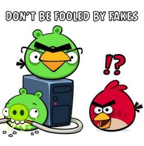 angry bird fake
